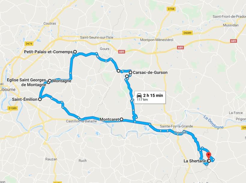 Circuit en Gironde